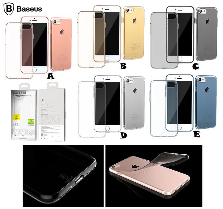 94c952731f iPhone 7 8 Plus BASEUS Simple TPU Anti Dust Plug Slim Case Cover *FREE. ‹ ›