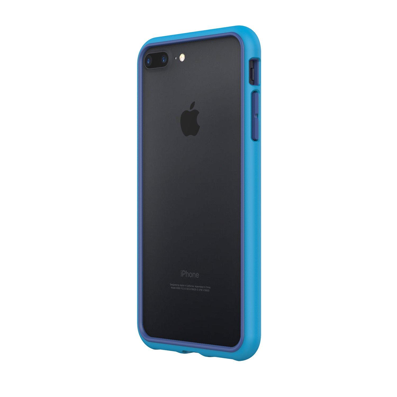 best authentic 43783 a5317 Iphone 7 8 Plus Rhinoshield Crashguard Bumper Blue Clearance