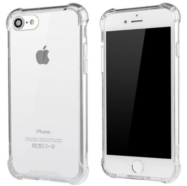Iphone 7 Acrylic PC Air Hybird Armor Crystal Soft TPU Case Cover