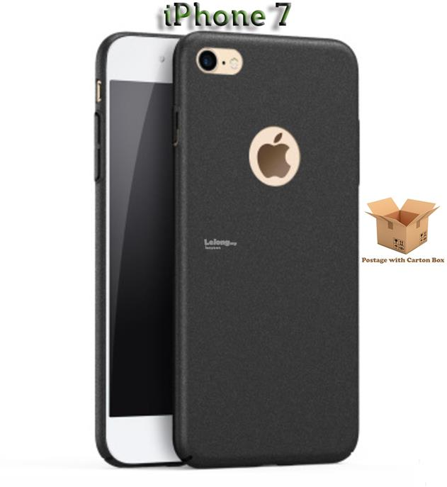 iPhone 7 Black Hard Case Thin Fit