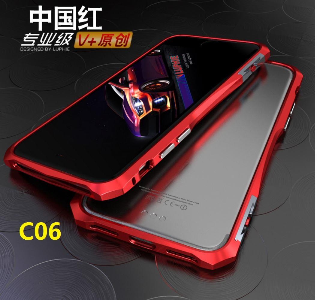 new style 43501 95ac2 IPHONE 7 IPHONE7 7 Plus LUPHIE Metal Frame Bumper Case Cover Casing