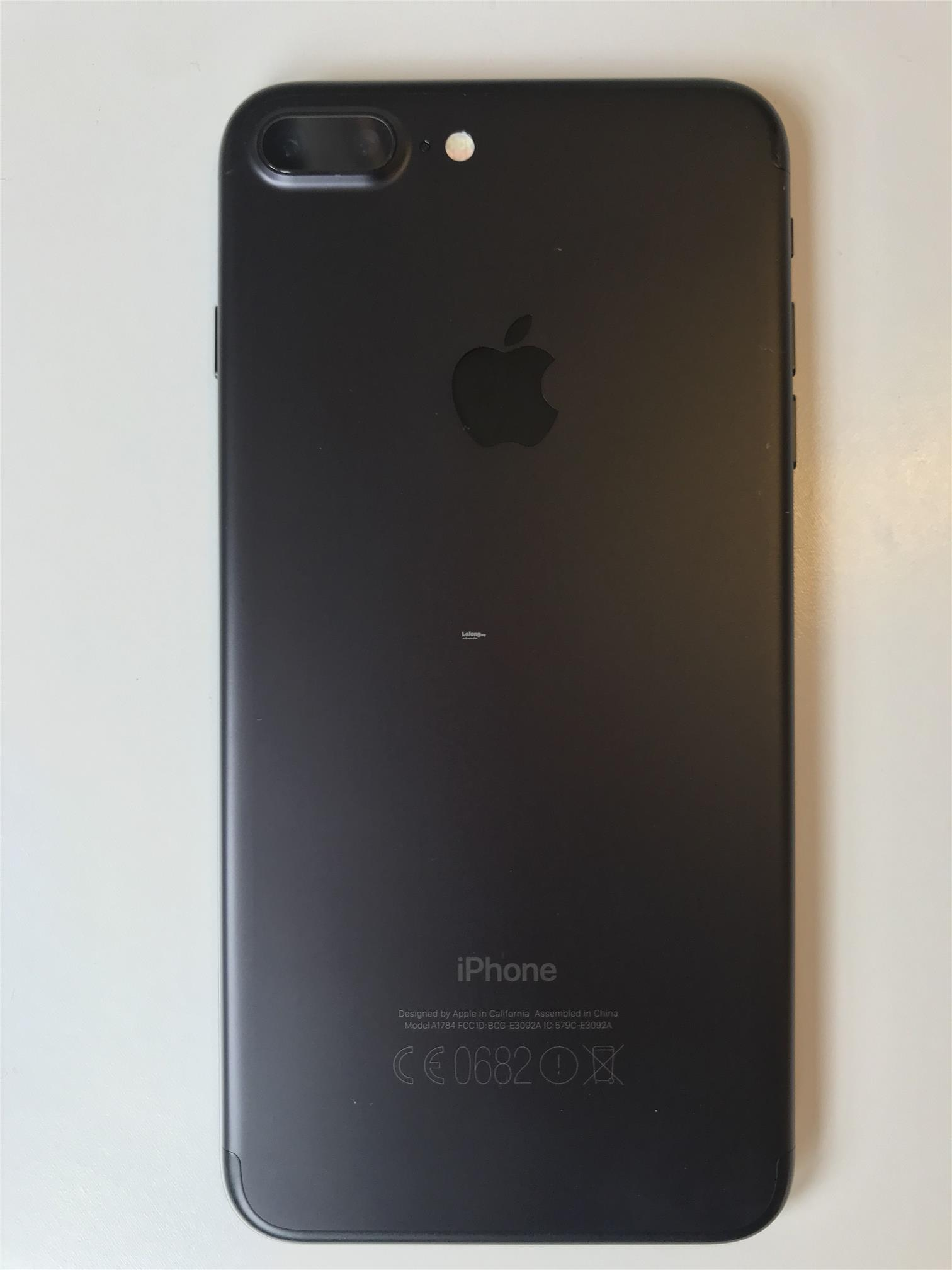 iphone 7 plus 256gb matte black end 1 24 2018 8 15 am. Black Bedroom Furniture Sets. Home Design Ideas