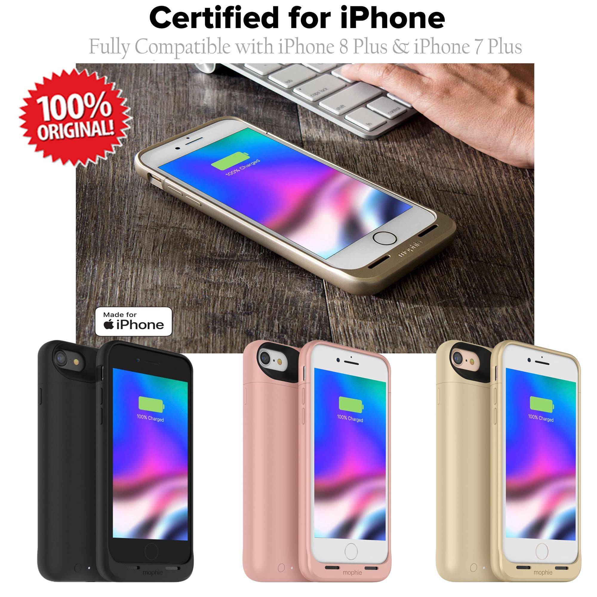 cheap for discount 1fa4e 86e83 iPhone 7 Plus Mophie Juice Pack Air Wireless Battery Case 2,420mAh