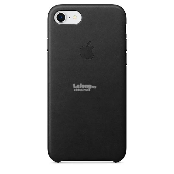 iPhone 8 Leather Case - Black