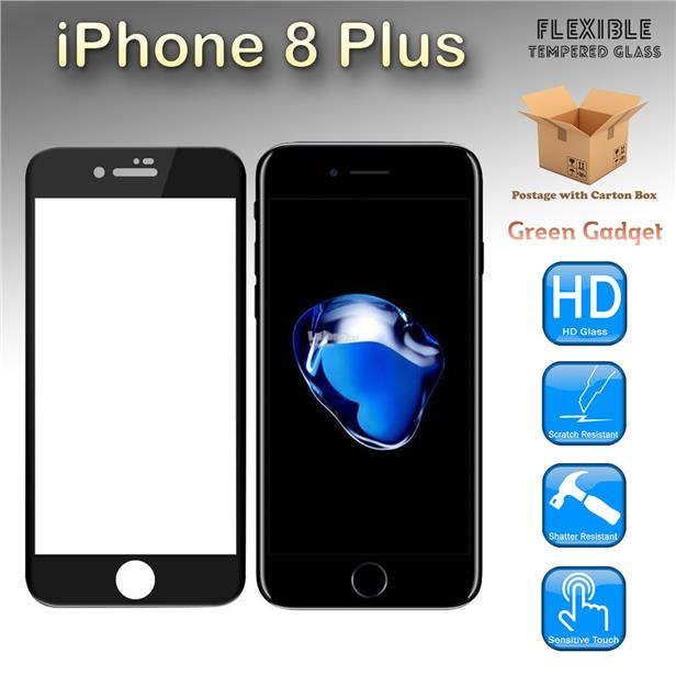 promo code 1d538 acf91 iPhone 8 Plus Full Tempered Glass Screen Protector