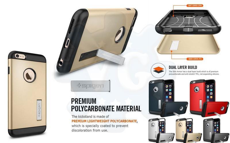 official photos 9f380 b03fd iPhone SE 5 5S 6 6S Asus Zenfone 2 CLONE Spigen SGP Slim Armor Case