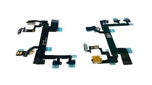 iphone SE 5S On/Off Power Button & Volume Flex Cable Ribbon Sparepart