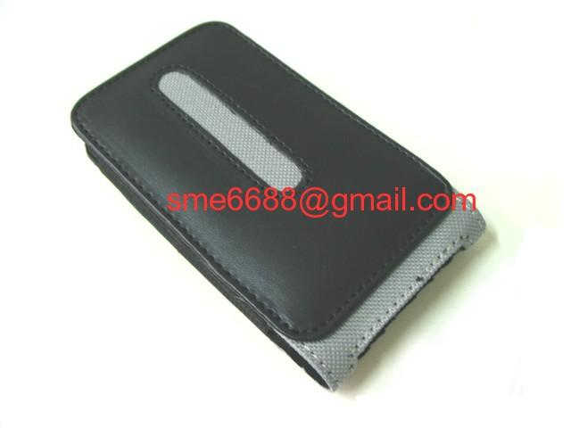 *iPhone Slot in ^Synthetic Leather Case Pouch