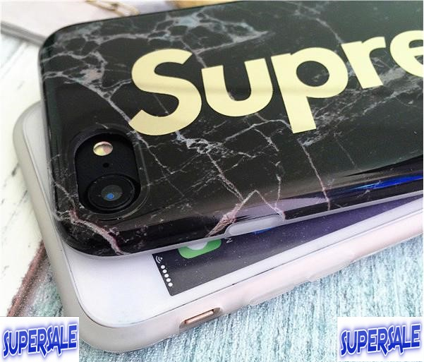 IPhone Supreme Marble pattern protective cover