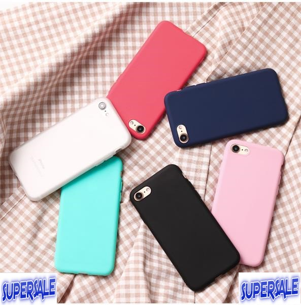 iphone thin matte soft plastic case