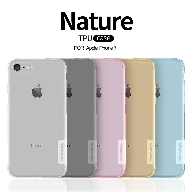best authentic 55805 3746c iPhone X 8 7 6 6S Plus Nillkin Nature Slim Transparent TPU Case