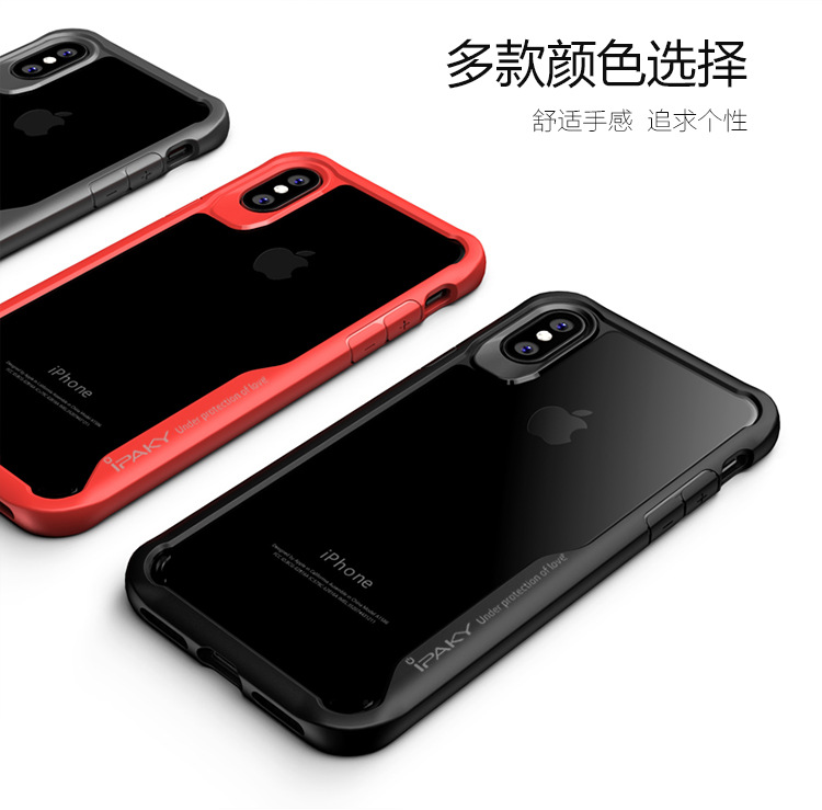 finest selection 01727 1eeae Iphone X iPaky Transparent Armour Drop Protection Case Cover