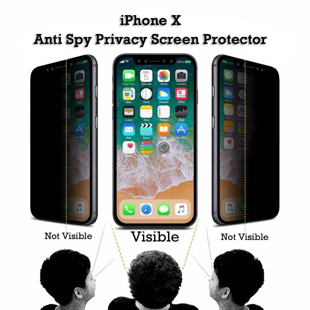 check out a0db1 193a3 Iphone X Privacy Tempered Glass Screen Protector