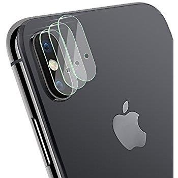 new product 15fba 3c3ad iPhone X Rear Back Camera Lens HD clear Tempered Glass Protector