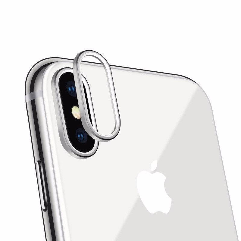 iPhone X Rear Back Camera Protector Protective Lens Ring Cover