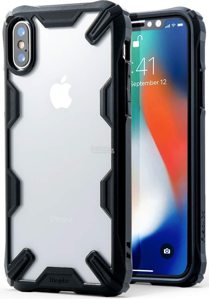 sports shoes fb58c 97ab8 iPhone X - Ringke Fusion X Fusion-X TPU Bumper Case
