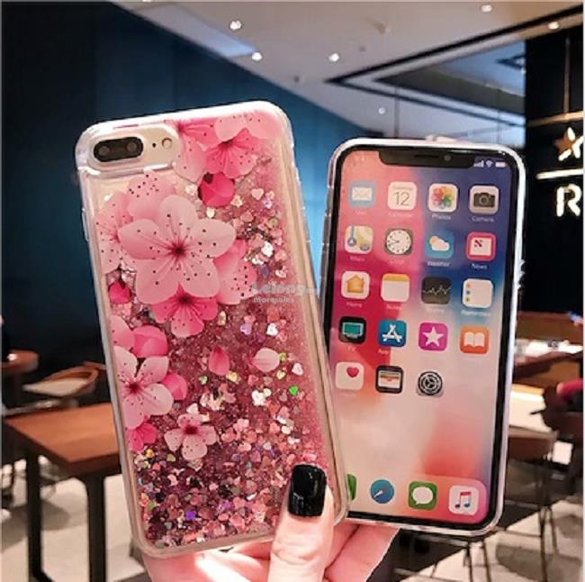 IPhone X XR XS Max 5s 6 6s 7 8 Plus Floral Case back Cover