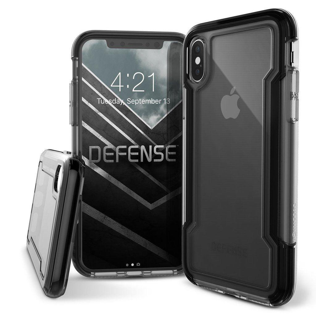 low priced 886de e04cb Iphone X XR XS Max 7 8 Plus X-doria Defense Clear Armour Case Military