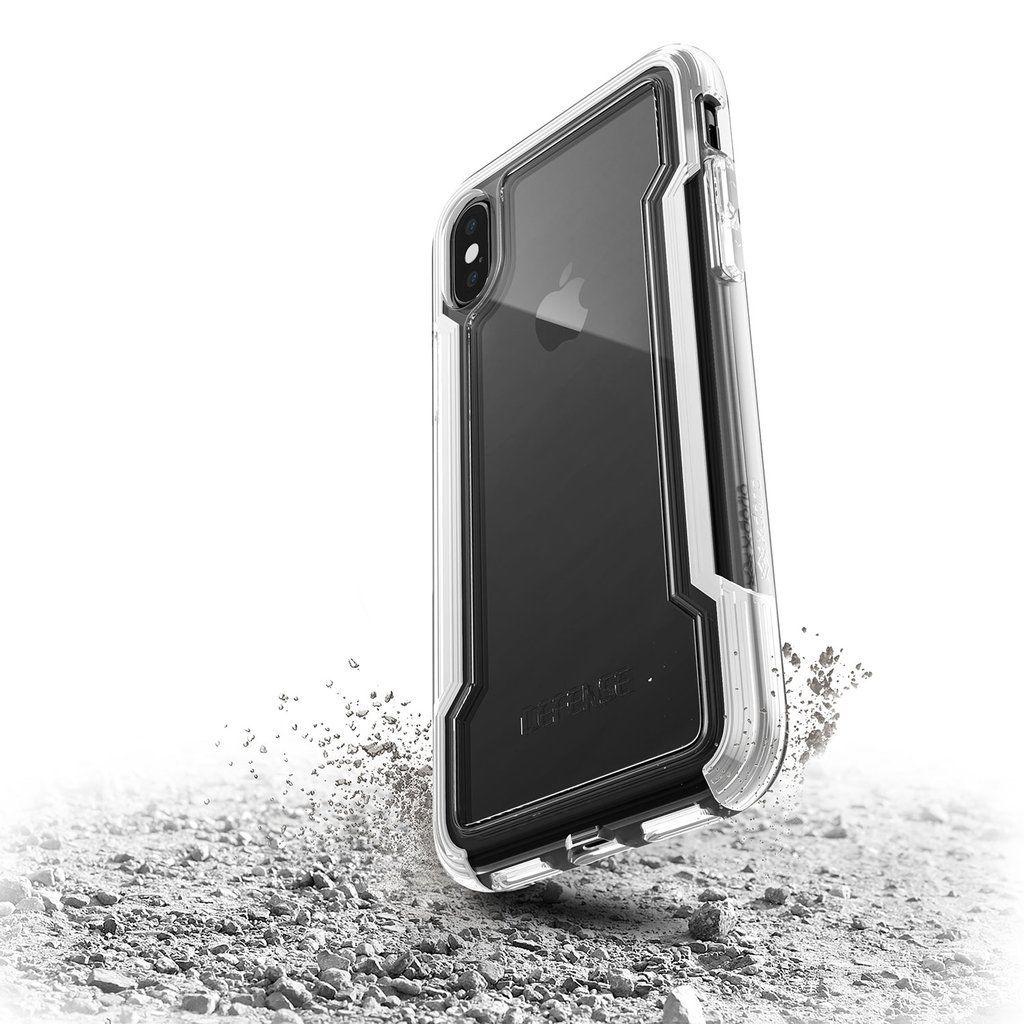 low priced d00ca b9219 Iphone X XR XS Max 7 8 Plus X-doria Defense Clear Armour Case Military