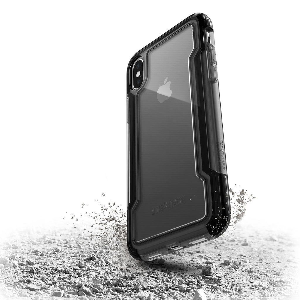 low priced 0851a 2e9ad Iphone X XR XS Max 7 8 Plus X-doria Defense Clear Armour Case Military