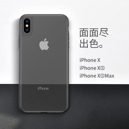 iPhone X/XS/XR/XS Max ultra thin transparent case cover