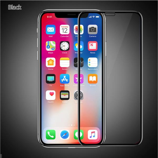 buy online 04f10 2ccc9 iPhone XS 5D 0.2mm Full Cover Tempered Glass Screen Protector