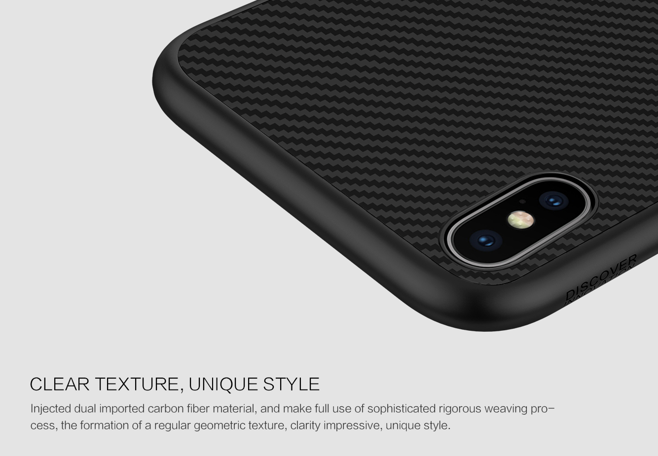 newest collection 99ddc 461a4 iPhone XS Max Nillkin Synthetic Fiber Case Cover