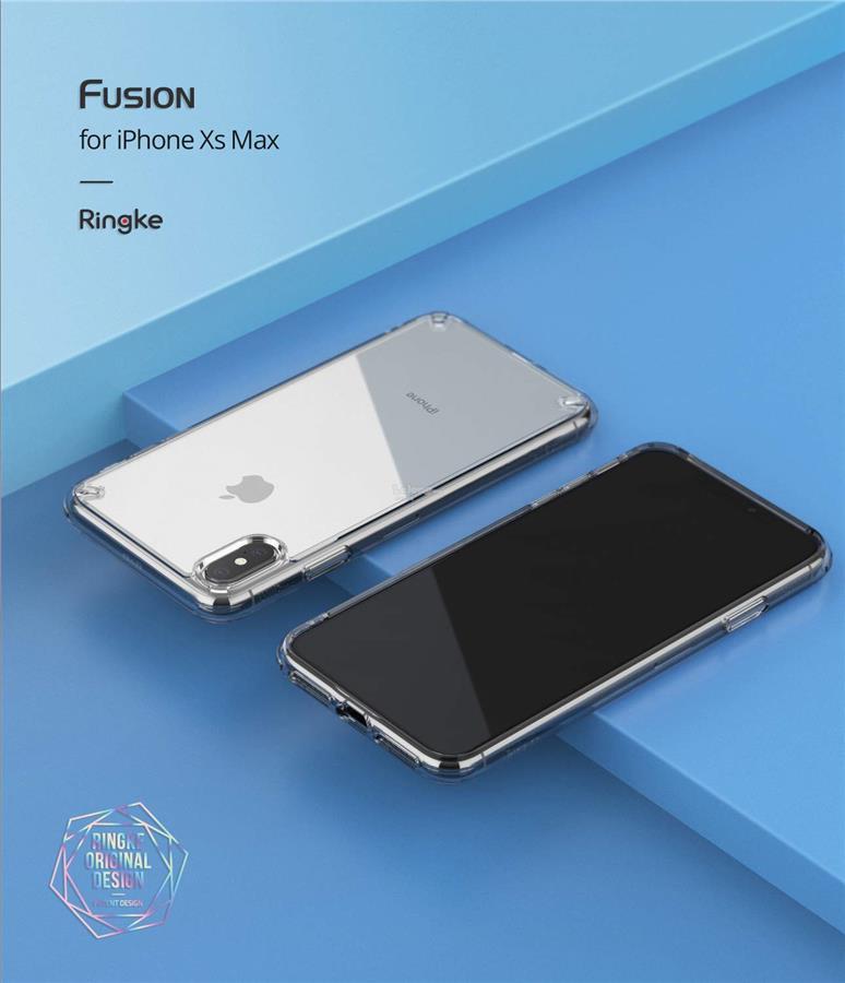 online store 72ce6 3fb65 iPhone XS Max - Ringke Fusion TPU Bumper Case