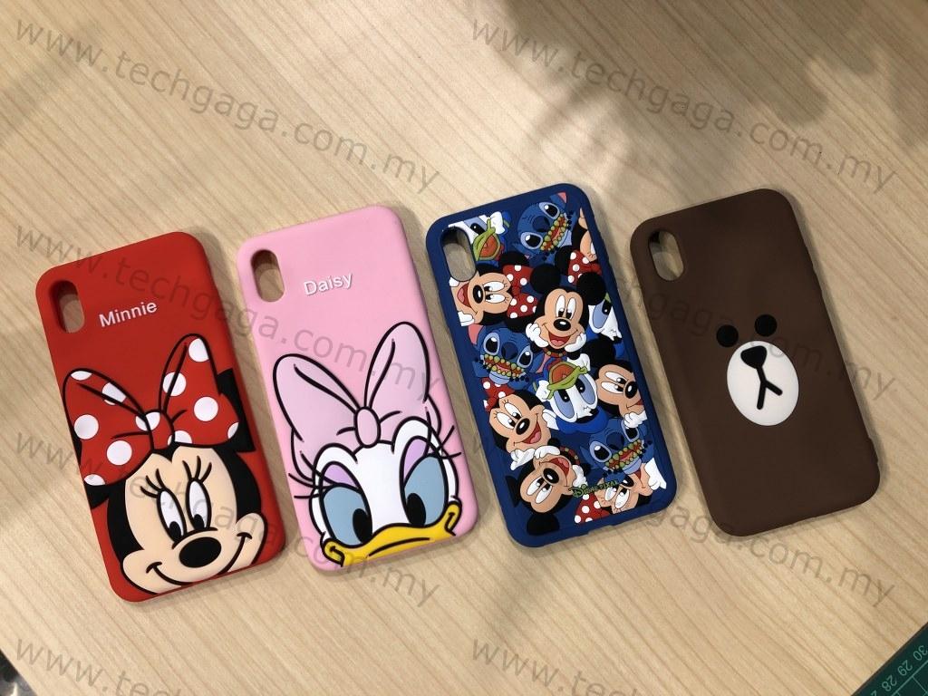 outlet store 89cc8 8c3f0 Iphone XS MAX XR Cartoon 3D Soft Cute Disney Bear Case