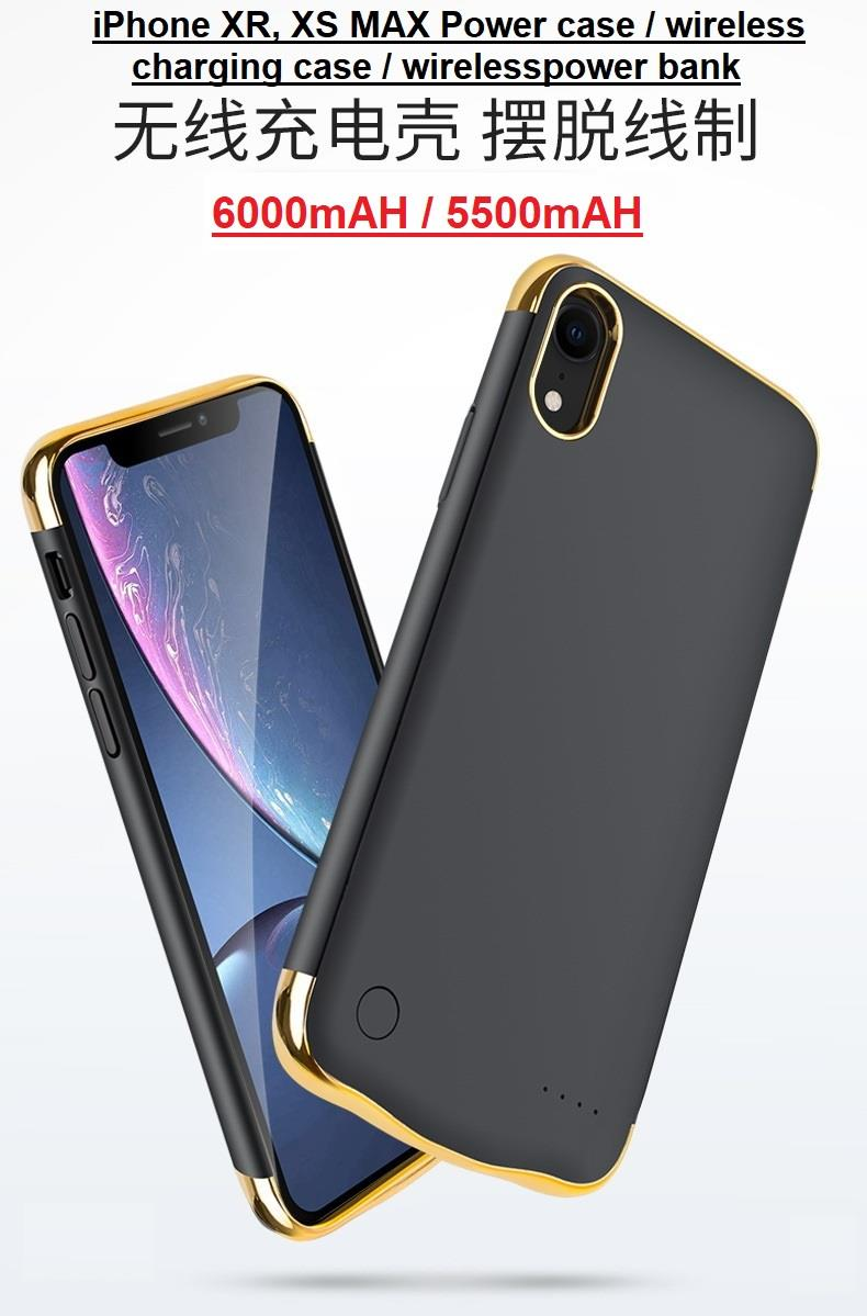 best website 66cbf b206c iphone XS max, XR power case, wireless charges case, wireless powerban