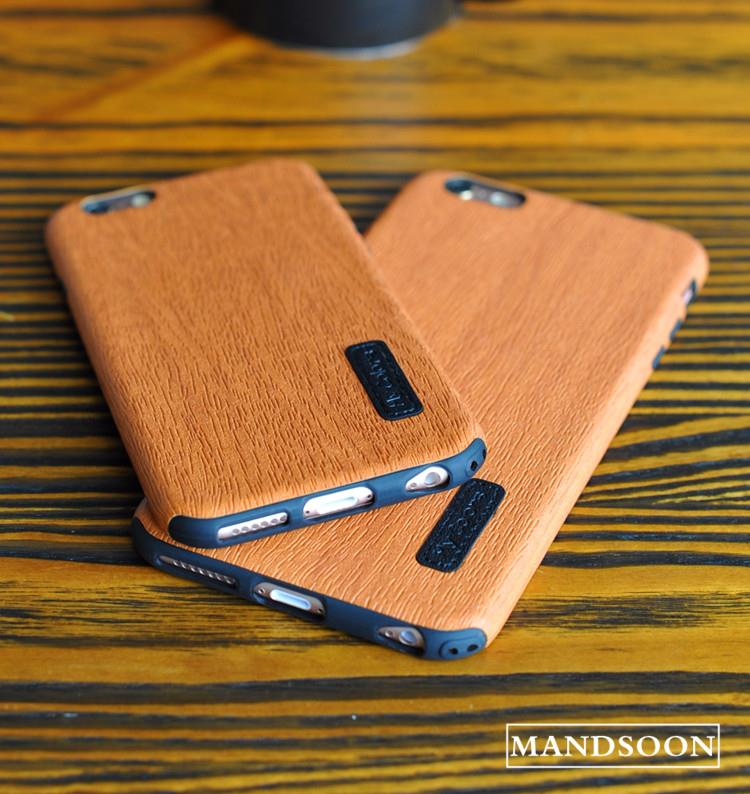 iPhone6 ​​/ 6s plus Mobile Phone Case Imitation Solid Wood