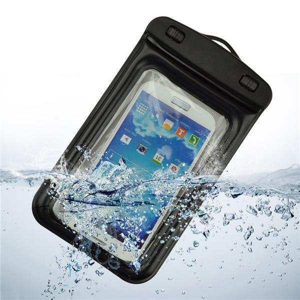 IPX8 Waterproof Bag Case with Armband Neck Strap for Samsung