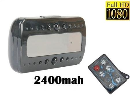 IR Nightvision 1080P Clock Camera With Motion Detect (WCH-22B).