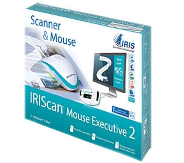 IRISCAN MOUSE EXECUTIVE 2 PORTABLE 2 IN 1 SCANNER
