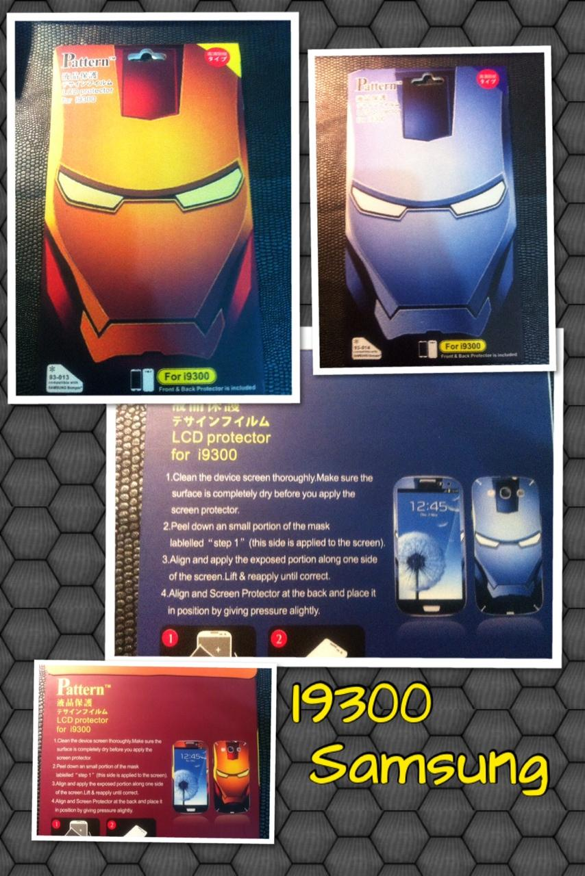 IronMan Front & Back Screen Protectors.