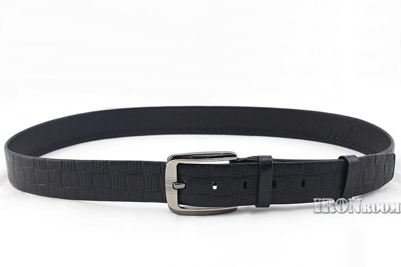 Ironroom Men's Casual Leather Belt GNC17004