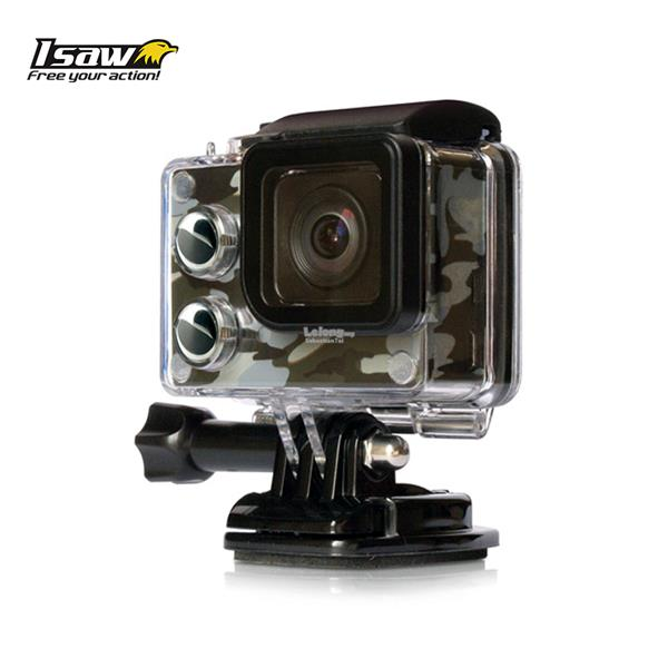 ISaw Edge 4k Action Camera Camo Edition *Official Isaw Malaysia Unit*