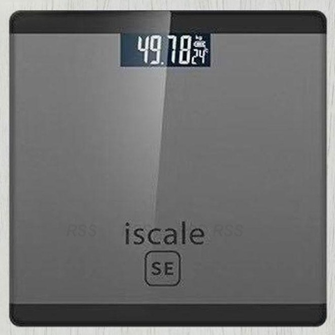 Iscale Se dgtl Body Scale High Accuracy Weight Scale - [BLACK]