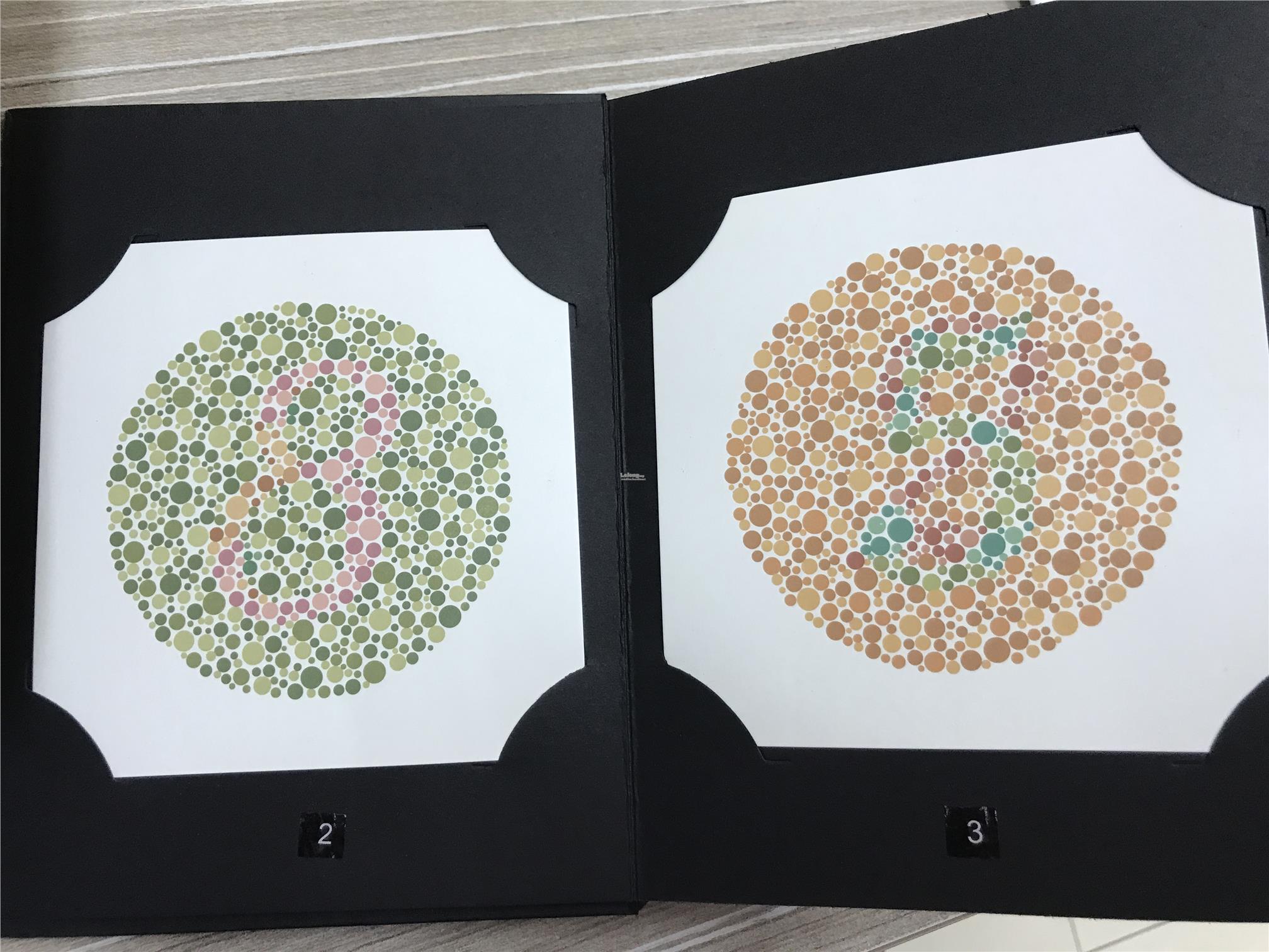 Ishihara Color Blindness Chart Siz End 6222019 104 Pm