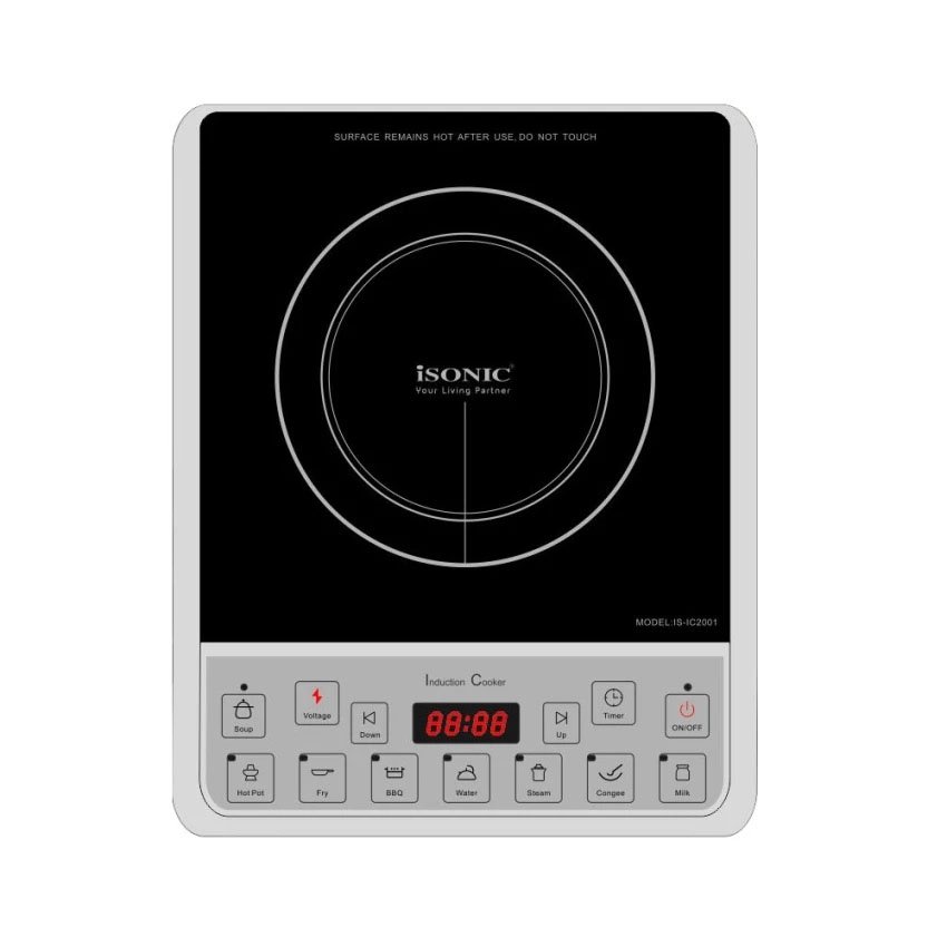 Isonic Induction Cooker Iso Is Ic2001