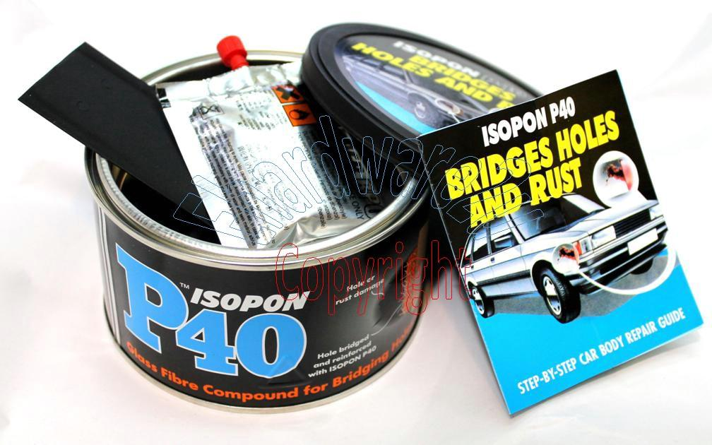ISOPON P40 Fibre Glass Compound Bridge Holes Paste (P40OS)