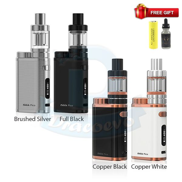 iStick Pico 75W Full Starter Kit Free Battery Juice 3 in 1 (1:)