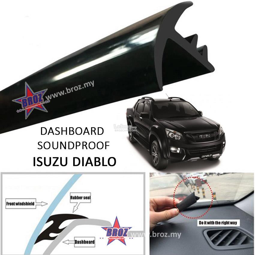 Isuzu Diablo T Shape Car Sound Insulation Sound Proof