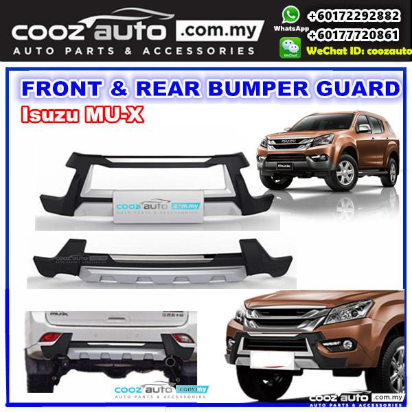 Isuzu Mu X Mux Front Rear Bumper P End 2 12 2020 2 09 Pm