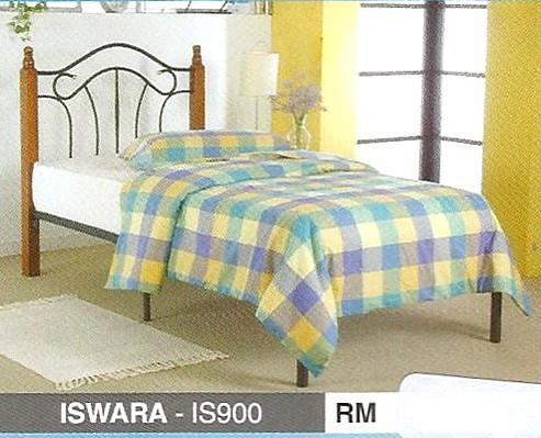 ISWARA FOLDING SINGLE BED -IS900FTXBWP RM299