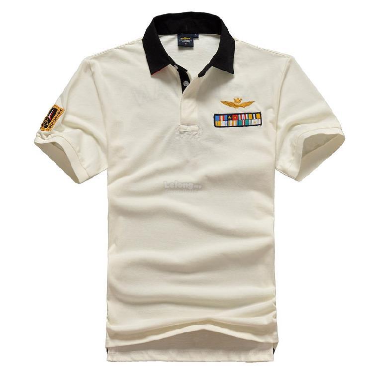 fdd58e528e96 Italian Aeronautica Militare  1 Flags Fashion Men Polo T-shirt