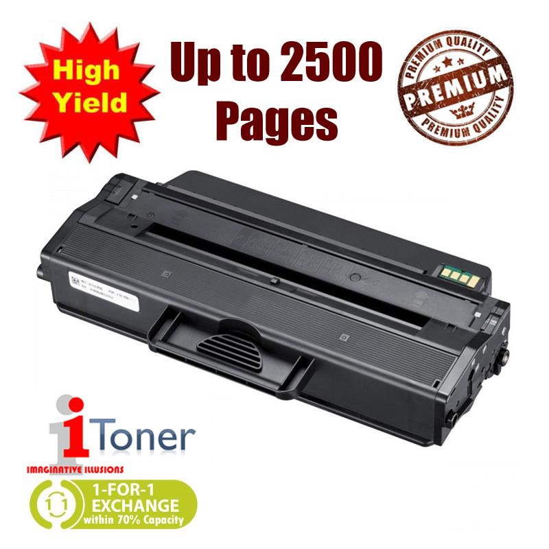 iTONER 103L MLT-D103L Compatible Toner, 65% More Yield Than MLT-D103S