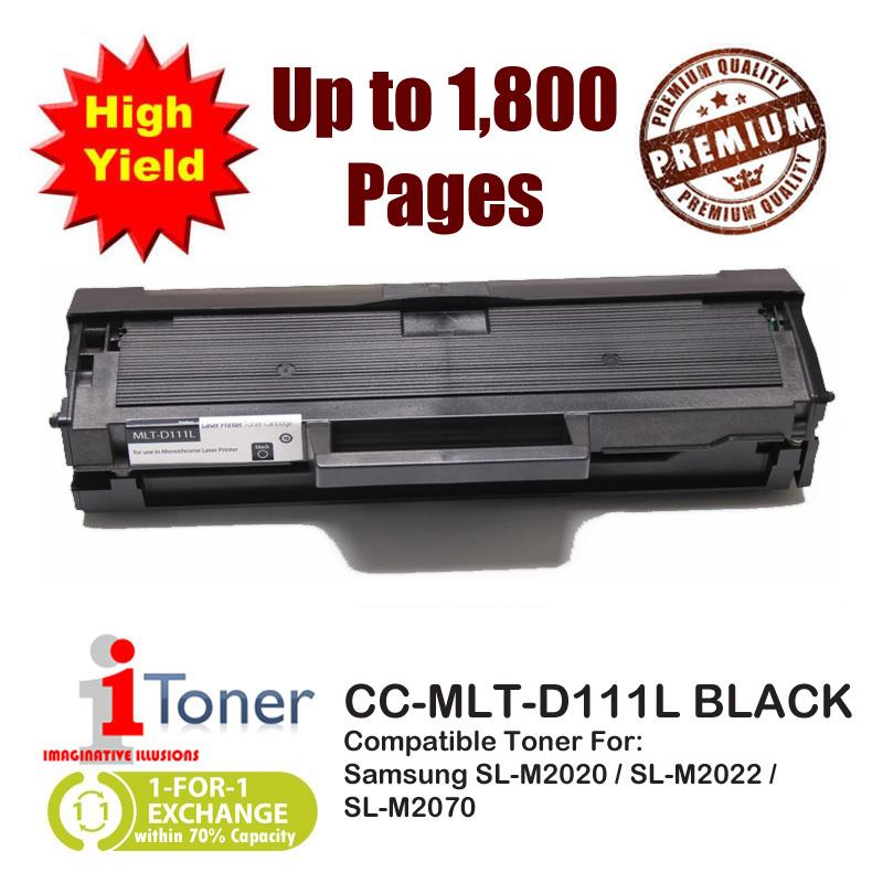 iTONER 111L MLT-D111L Compatible Toner, 80% More Yield Than MLT-D111S
