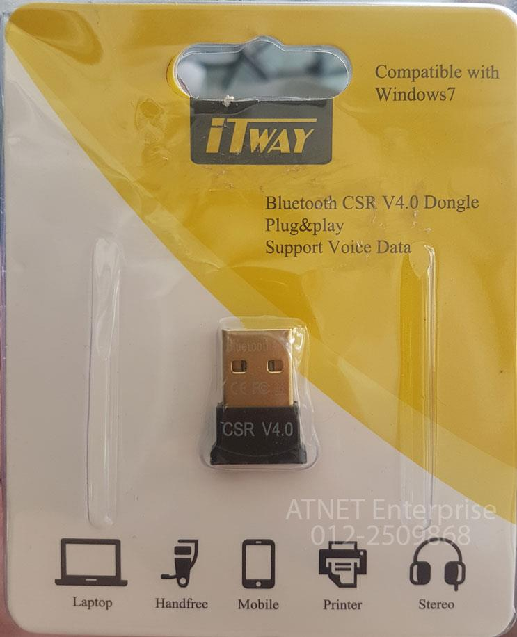 ITWAY BLUETOOTH 4.0 USB DONGLE