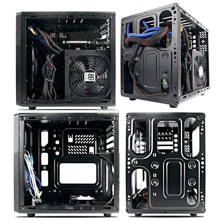 ITX M-ATX MATX Desktop PC Computer CPU Case Casing Chassis + PSU